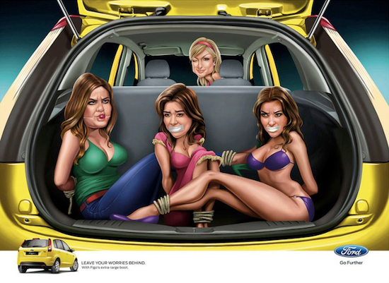 ford-ad-kim-kardashian-paris-hilton-jwt-india